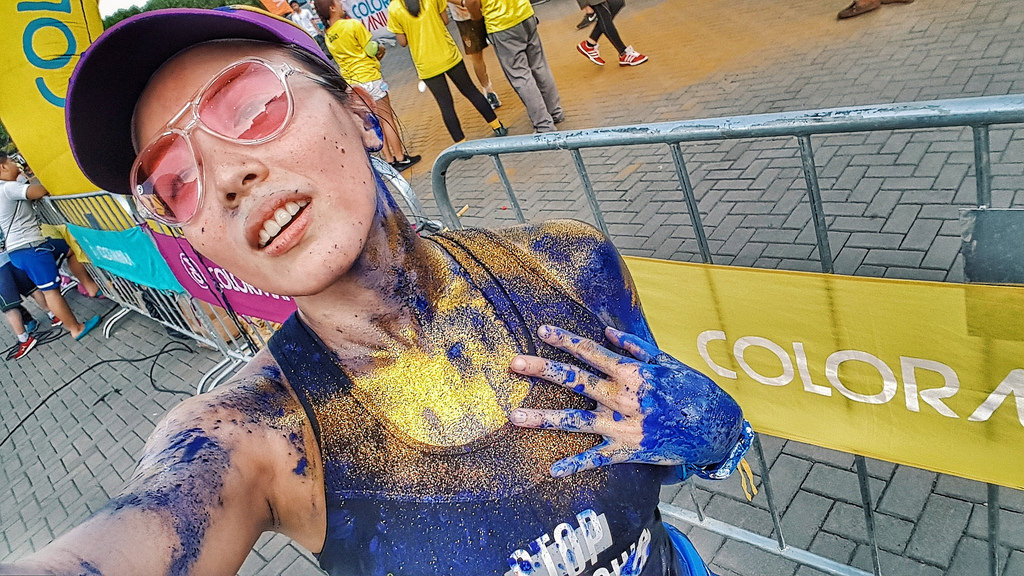 Color Manila Glitter Run