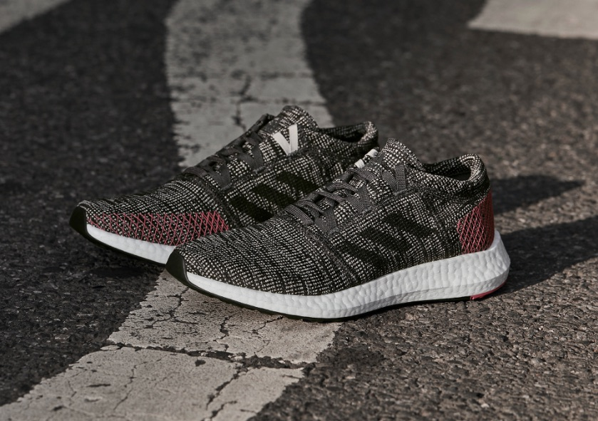 adidas PureBOOST Go in charcoal colorway