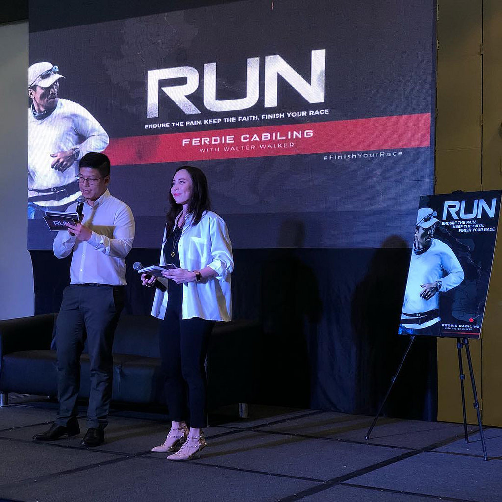 """Run"" book launch at Manila International Book Fair"