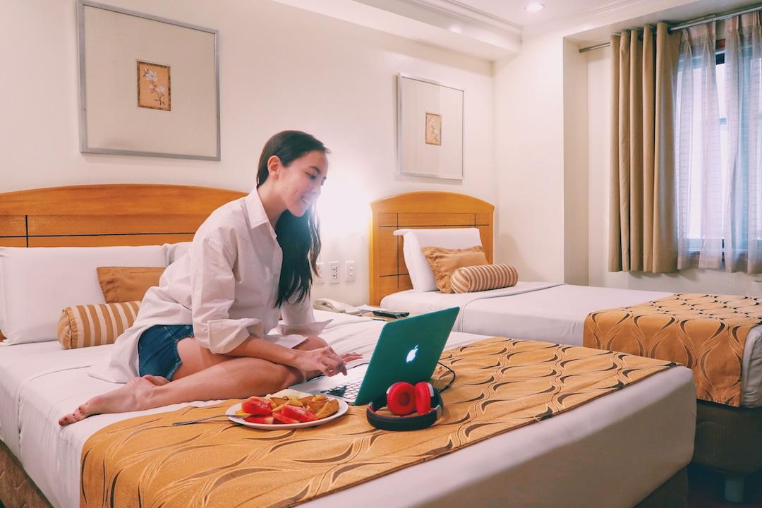 City Garden Suites deluxe room