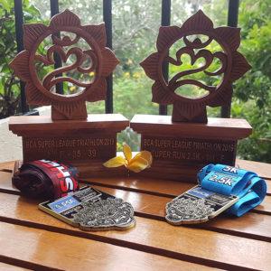 age group trophies at Super League Bali