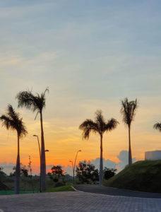 sunrise at Vermosa Sports Hub