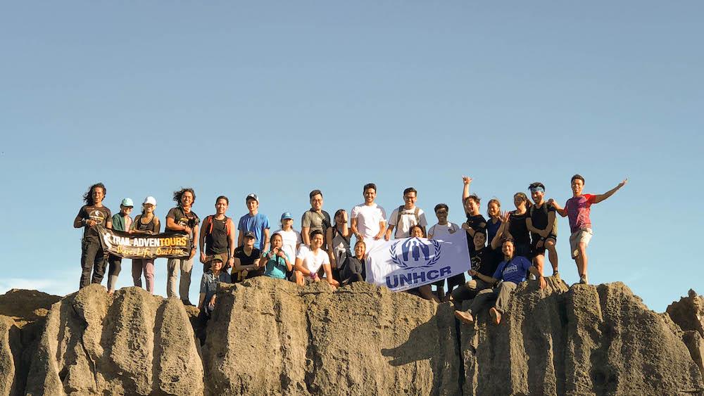 Mt. Nagpatong trek with UNHCR Goodwill Ambassador Atom Araullo