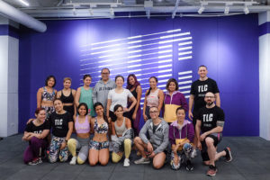 media event for TLC Fitness Club
