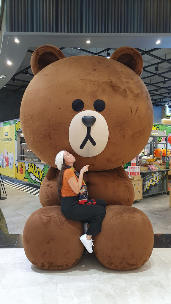 Line Friends at Lotte Mall Gwangbok Busan