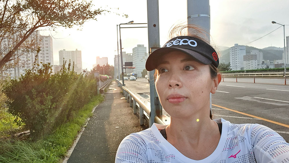 Running in Saha District, Busan
