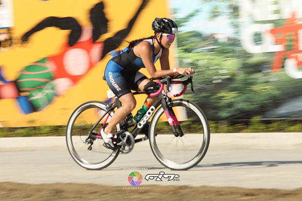 riding my bike hard (photo by Roderick Petogo)