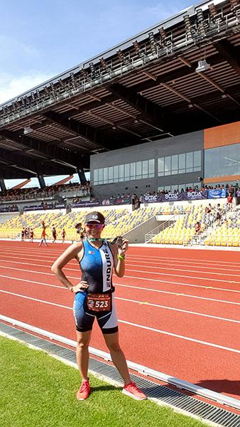 finishing inside the New Clark City Athletics Stadium