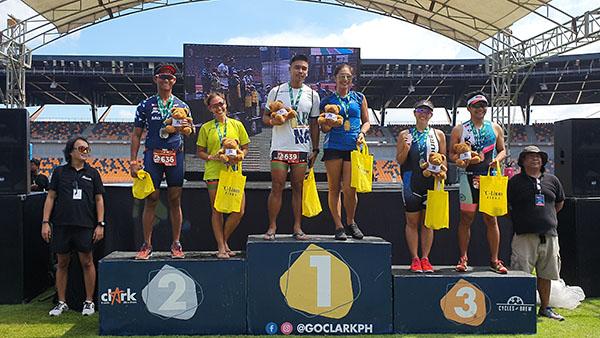 New Clark City Triathlon Sprint category 30-39 age group