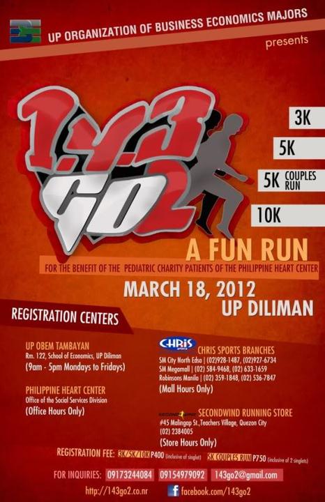 1, 4, 3 Go! Run on March 18