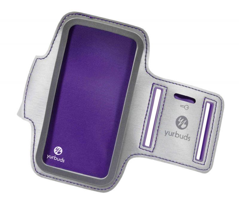 yurbuds Armband purple