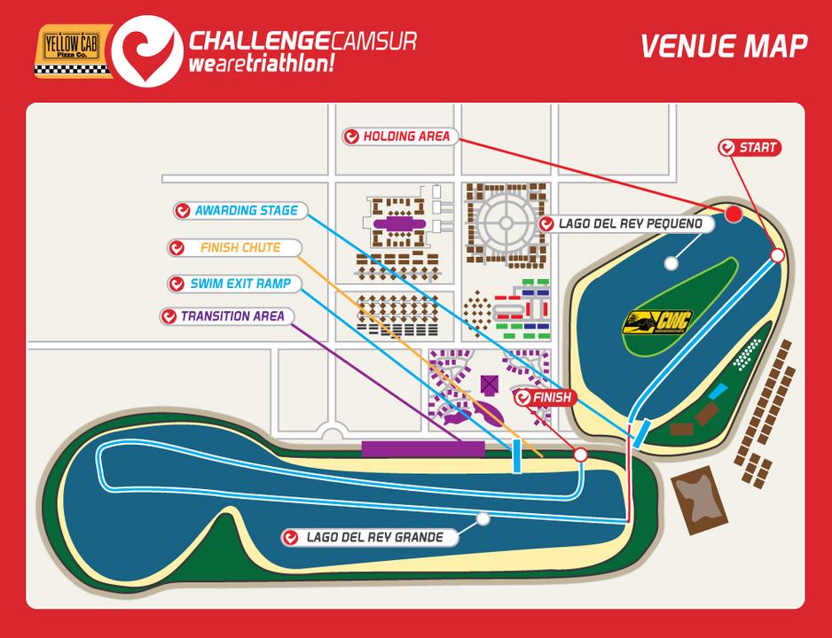 Challenge Camsur Venue Map
