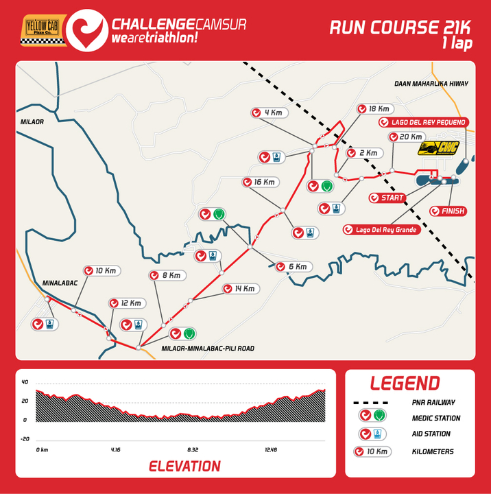 Challenge Camsur Run Course
