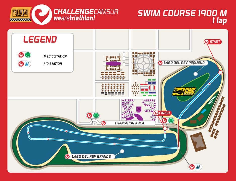 Challenge Camsur Swim Course