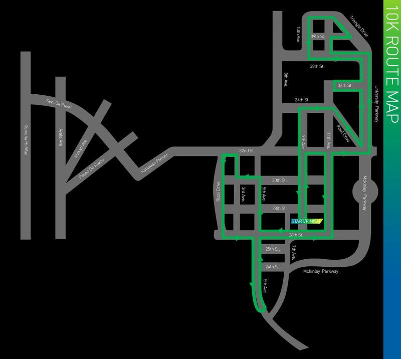KOTR 2013 10K route