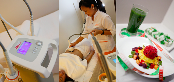 My Kikay Afternoon: Machine + Treatment + Diet and Exercise