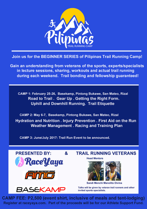 Pilipinas Trail Camp series