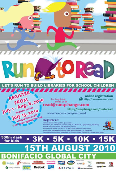 Run to Read poster
