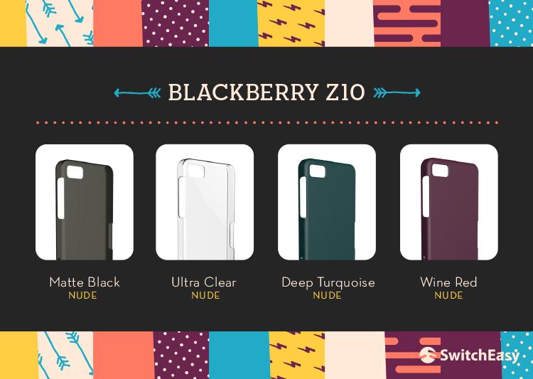 SwitchEasy cases for BlackBerry Z10