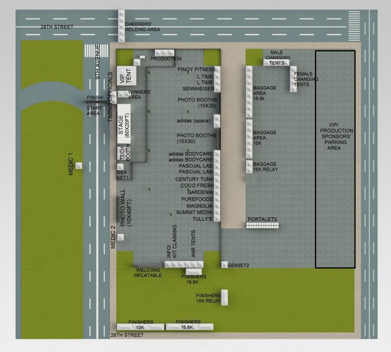 KOTR 2013 event area map