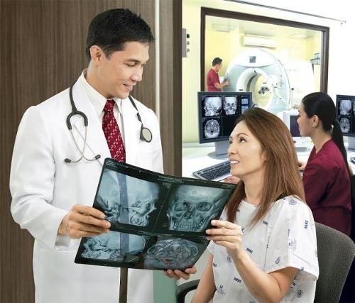 CT Scan at UPMC