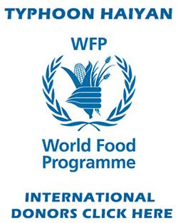 Donate to World Food Programme for Typhoon Yolanda / Haiyan Relief