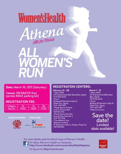 Women's Health Athena All-Women's Run