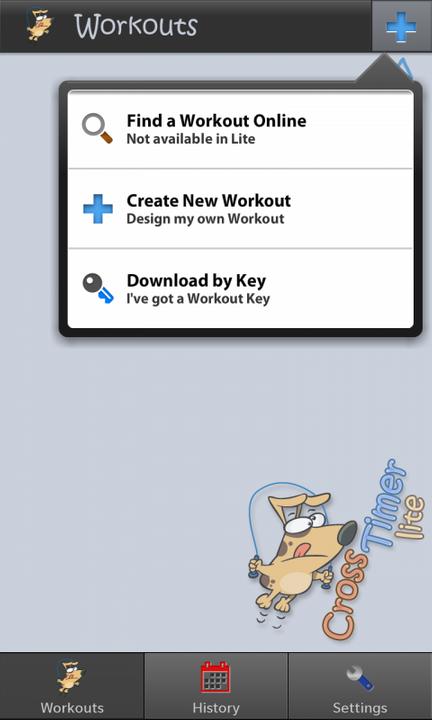 Crosstimer Lite app for BlackBerry Z10