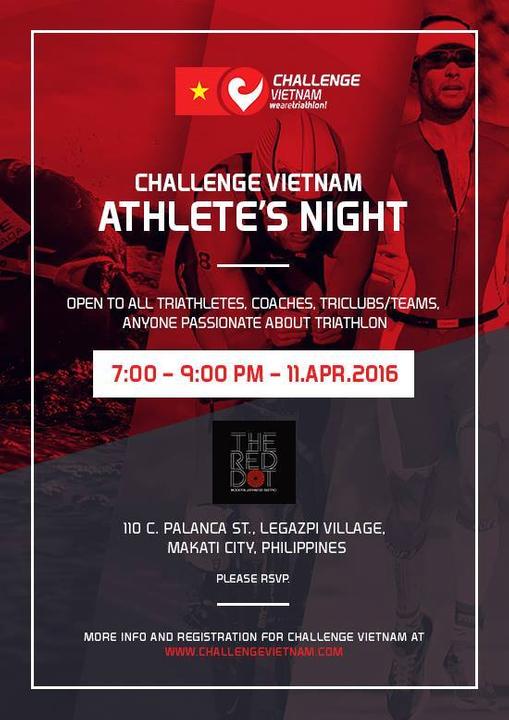 Challenge Vietnam Athletes Night