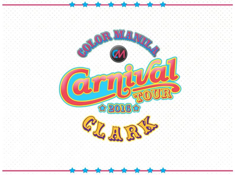 Color Manila Run Carnival Tour Clark