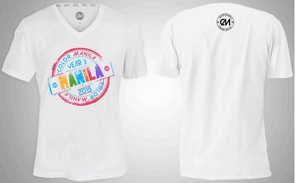 Color Manila Run shirt
