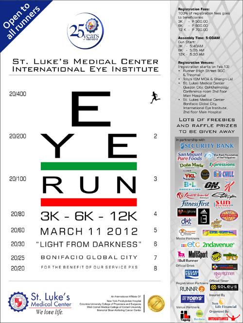 EYE Run on March 11