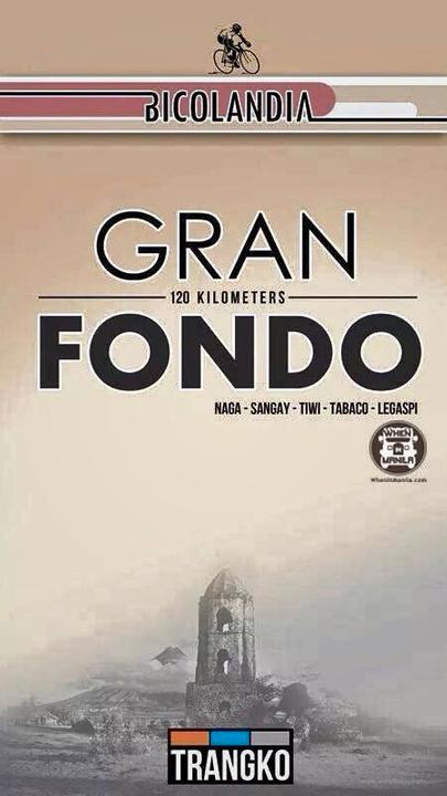 Gran Fondo Bicolandia on December 14, 2014