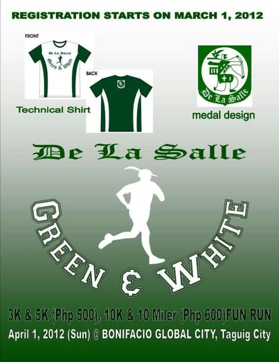 Green and White Run