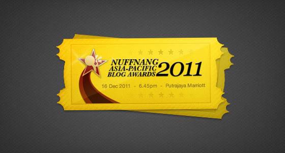 Nuffnang Asia Pacific Blog Awards