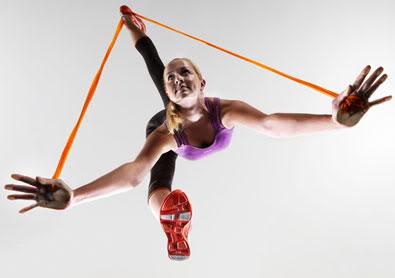 Reebok Jukari Fit to Flex workout inspired by Cirque du Soleil