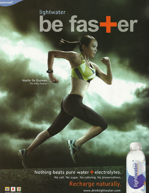 Be Faster. Drink Lightwater