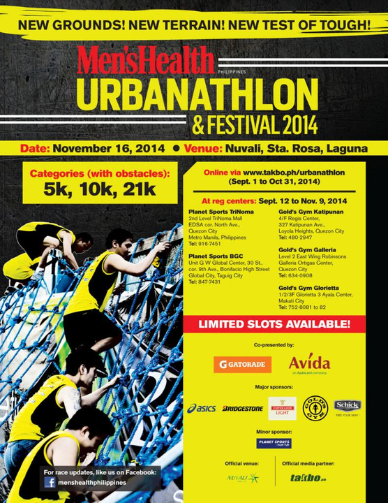 Mens Health Urbanathlon November 16, Nuvali