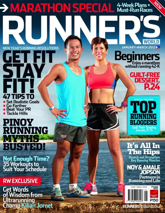 Runners World January-March 2012 issue