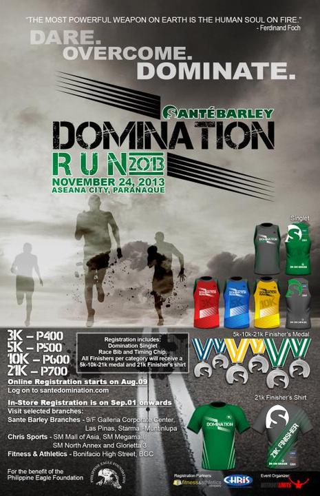 Sante DomiNation Run on November 24