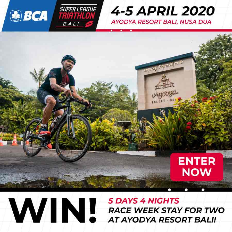 join to win a four-night stay at Ayodya Bali for Super League Bali