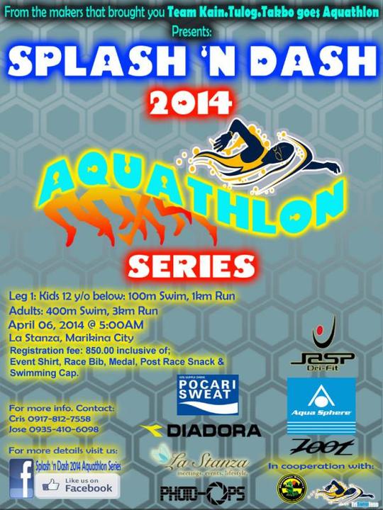 Splash n Dash Aquathlon Leg 1 poster