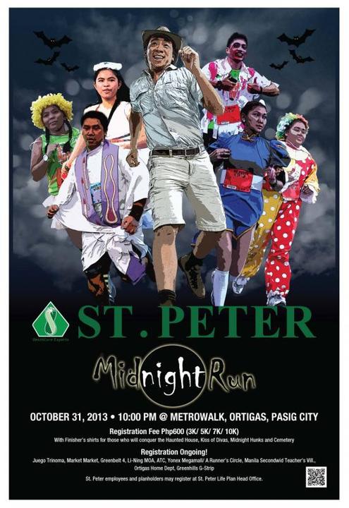 St. Peter Midnight Run on October 31, 2013