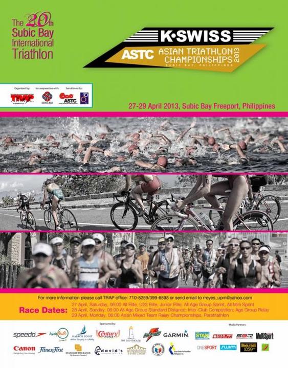 Subic Bay ASTC Asian Triathlon Championships 2013