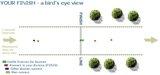 Unilab Run finish bird's eye view