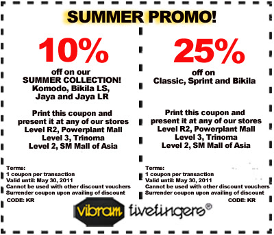VFF discount coupon