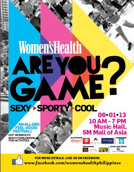 Womens Health Are You Game?